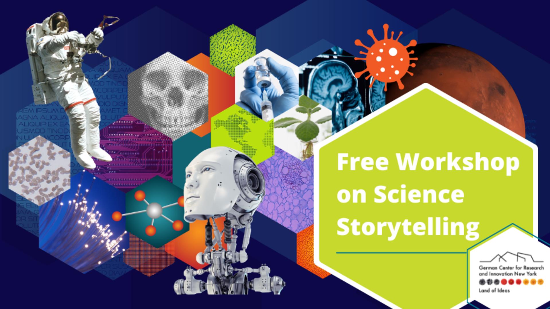 SCIENCE STORYTELLING WORKSHOP organizado por German Center for Research and Innovation (DWIH) New York
